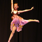 A dancer in one of our programs.