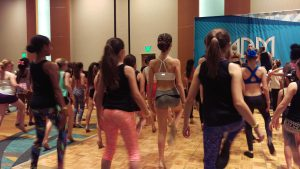 Our juniors working hard at LA Dance Magic