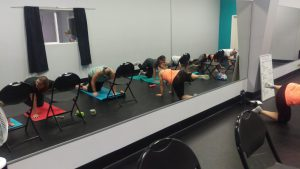 BeFree Fitness blessed our moms during Princess Dance Camp this year with a wonderful Core & Restore worskshop