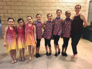 TTP Dance Co. elementary and junior teams performing at the Halo Dance Benefit for Autism.