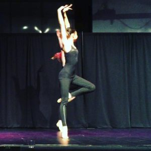 One of our senior dancers showing of her gorgeous technique with those legs and feet