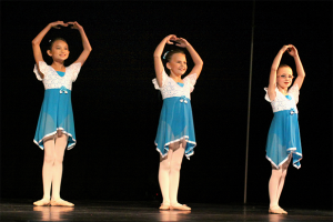 summer princess dance camp participants