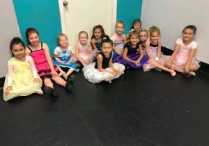 A few of our dancers from our 2017 Princess Dance Camp